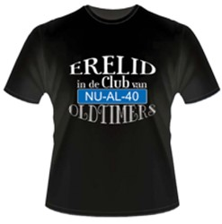 T-shirt Oldtimer 40