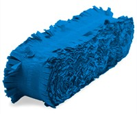 Crepeguirlande Blauw Brandveilig (24m)-3