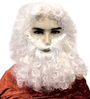 Baardstel Kerstman  + Wenkbrauwen