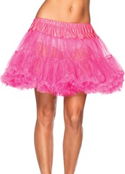 Petticoat Neon Pink Luxe (2 laags)