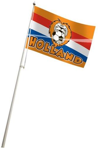 Gevelvlag Leeuw Oranje 100x150cm