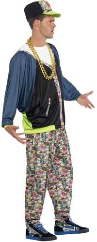 Eighties Hip Hop Kostuum voor heren-2