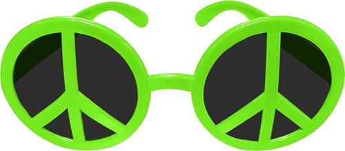 Bril Peace Neon Groen