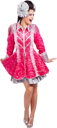 Carnavalsjas Markiezin Pink Luxe voor dames