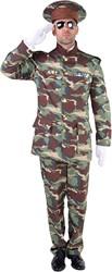 Herenkostuum Leger Officier Camouflage