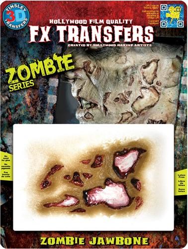 Professionele Wond FX - Zombie Jaw Bone