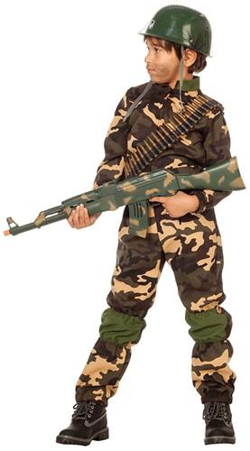 Legerkostuum Commando voor jongens