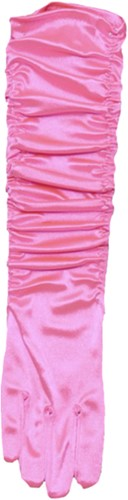 Gala Handschoenen Satijn Pink