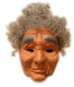 Masker Plastic Sarah met Haar