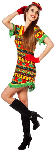 Dameskostuum Mexicaanse Bandita