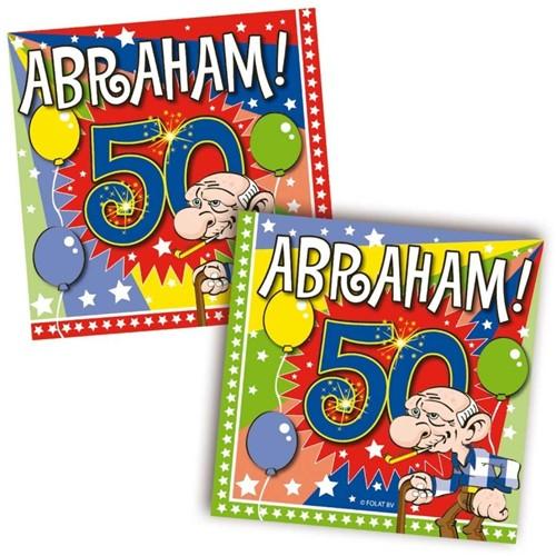 Servetten Abraham 20st.