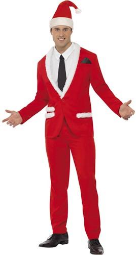 Herenkostuum Kerst Smoking - Cool Santa