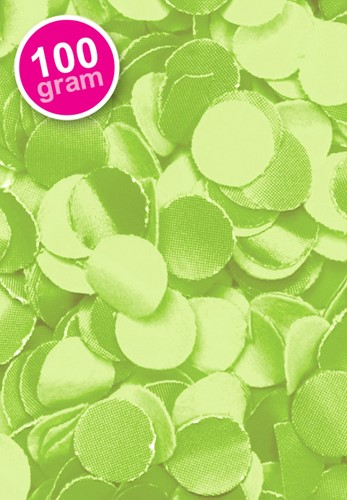 Confetti 100 gr Lime Groen
