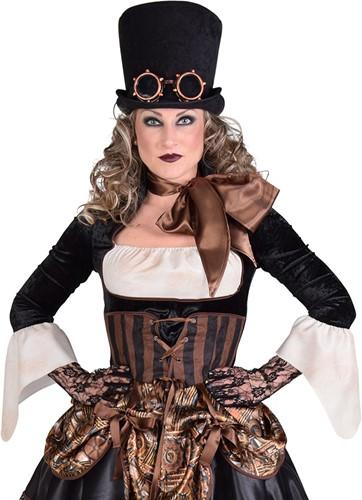 Damesjurkje Steampunk 1900-2