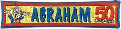 Banner Abraham Stripes 40X180CM