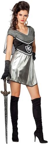 Ridderjurkje Zwart-Zilver voor dames