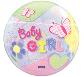 Bubble Baby Girl
