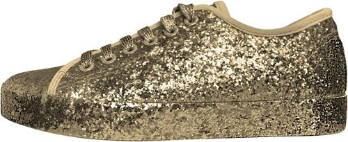 Glitter Sneaker Goud voor dames