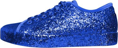 Glitter Sneaker Blauw voor dames