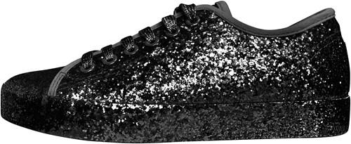 Glitter Sneaker Zwart voor dames