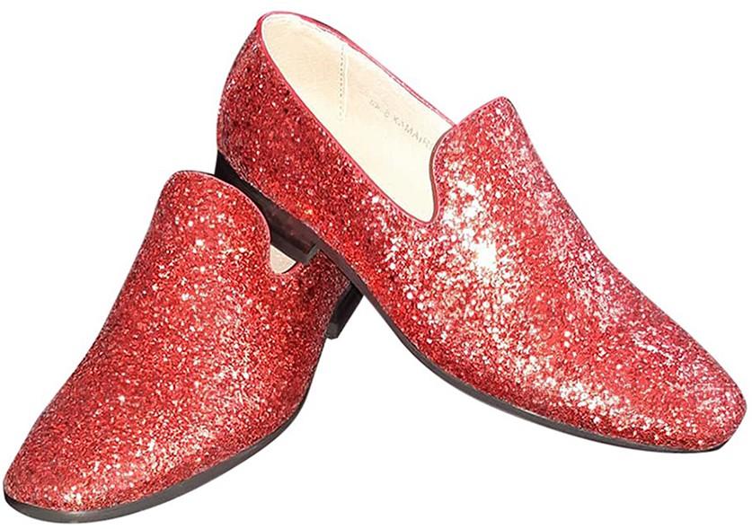 9013d1fb03b836 Foute Glitter Schoenen Rood voor heren