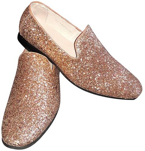 Foute Glitter Schoenen Goud voor heren