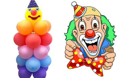 Clown Feestartikelen