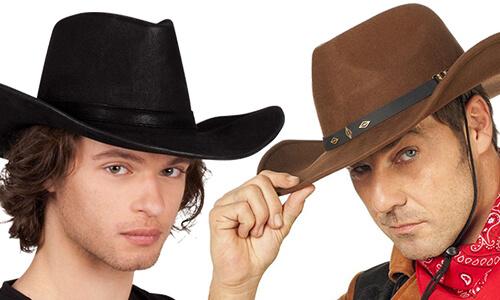 Cowboy & Cowgirl Hoeden