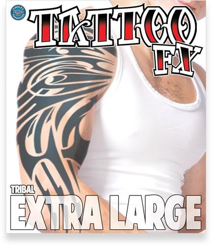 Body Tattoo Tribal (extra groot)