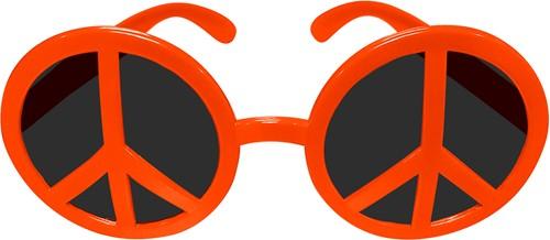 Bril Peace Oranje