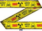 Markeerlint Danger/Keep Out 15mtr.