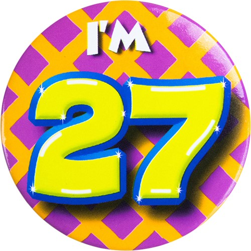 Button 27 jaar