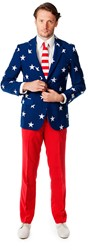 Herenkostuum OppoSuits Stars and Stripes