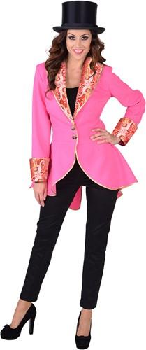 Damesjas Pink met Brokaat