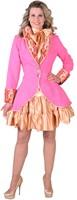 Damesjas Pink met Brokaat-2