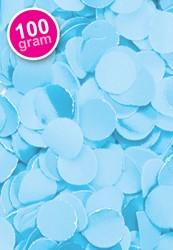 Confetti 100 gr Brandveilig Lichtblauw