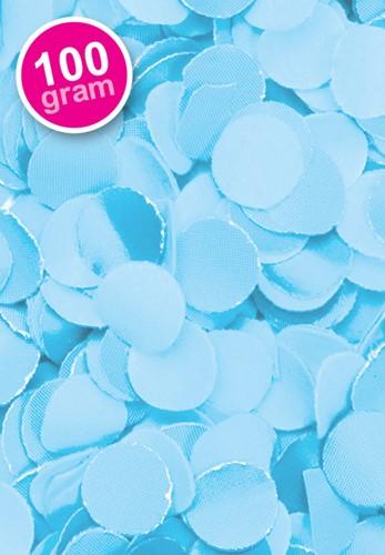 Confetti 100 gr Lichtblauw