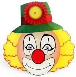 Broche Clown met Licht (6x6cm)