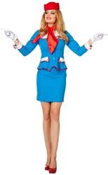 Stewardessenpakje voor dames