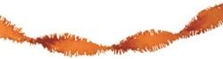 Crepe Guirlande Oranje 24m