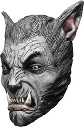 Beast Silver Wolf Masker Latex Luxe