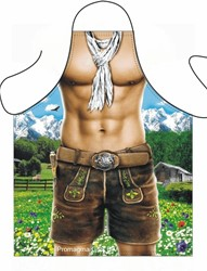 Sexy Schort Alpen Man