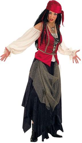 Dames Piratenkostuum Valoria Luxe