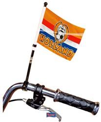 Fietsvlag Oranje 20X15cm