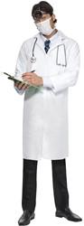 Witte Dokterjas voor heren