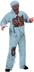 Halloween Kostuum Zombie Chirurg (7dlg)