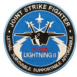 Embleem Joint Strike Fighter