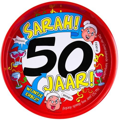 Dienblad Sarah! 50 jaar!