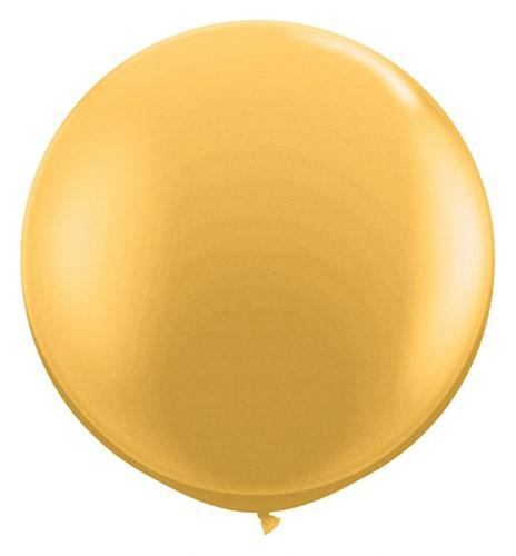 Topballon 90cm Goud