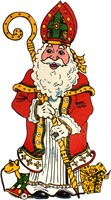 Raamdeco Sinterklaas (assorti) -2
